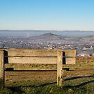 The view from Rodborough Common, Stroud, Gloucestershire by Jeff  Wilson