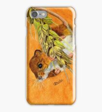Dormouse Hanging In There iPhone Case/Skin