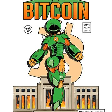 The Incredible Bitcoin by laurauroraa
