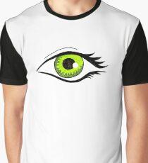 Auge grün Graphic T-Shirt