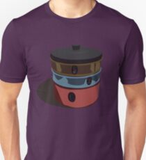 Retro metal cake and biscuit tins - shadow T-Shirt