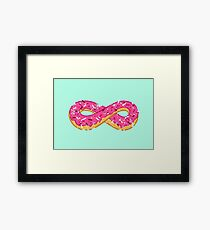 To infinity…and donut! Framed Print