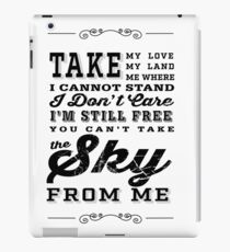 Firefly Theme Song Lyrics iPad Case/Skin
