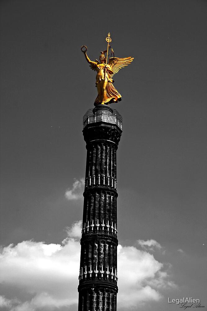 Golden Angel by LegalAlien