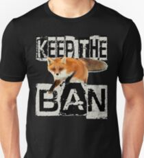 KEEP THE BAN Unisex T-Shirt