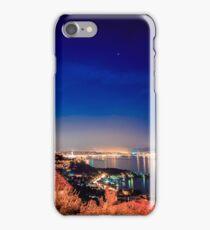 evening in the gulf of Trieste iPhone Case/Skin