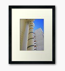 Cosy Columns 11 Framed Print