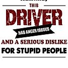 Angry Driver, car truck driving design, funny drive ride design by chiplanay