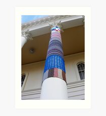 Cosy Columns 17 Art Print