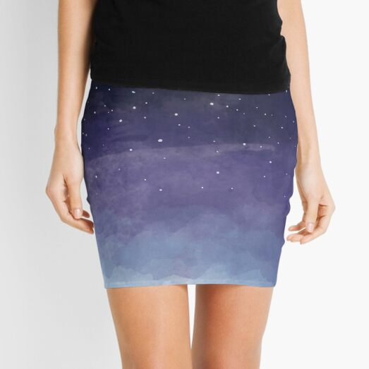 Looking for the stars Mini Skirt