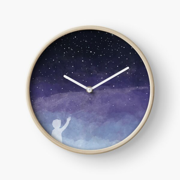 Looking for the stars Clock