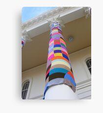 Cosy Columns 16 Canvas Print