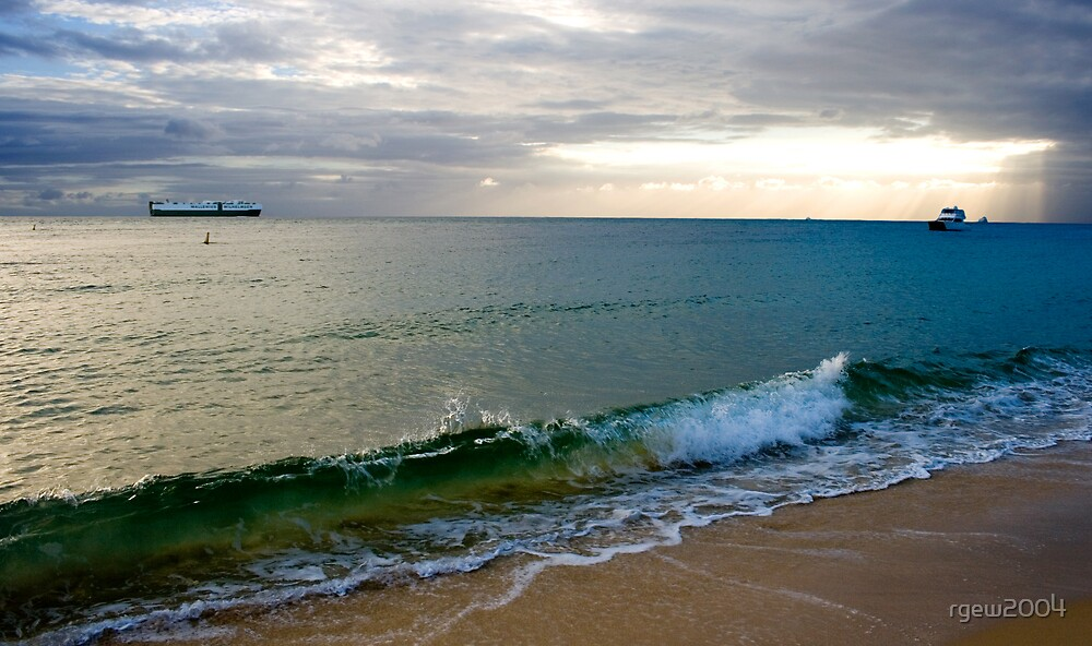 Green Wave by Greg Halliday