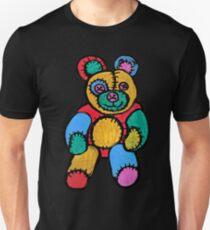 Raggy Patchy Teddy Bear Unisex T-Shirt