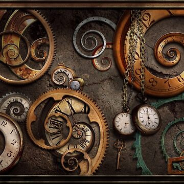 Steampunk - Abstract - Time is complicated by mikesavad