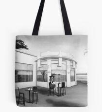 La dernière...(version noir et blanc) Tote Bag