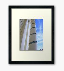 Cosy Columns 12 Framed Print
