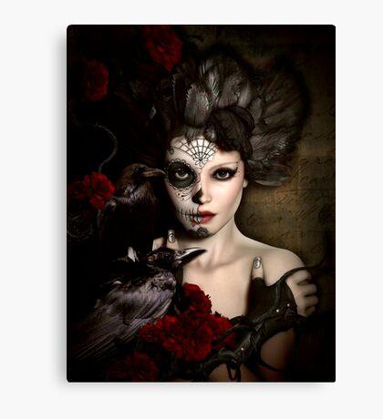 Darkside Sugar Doll Canvas Print