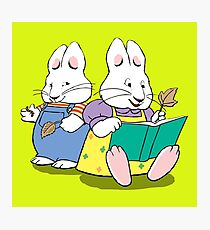 max and ruby Photographic Print