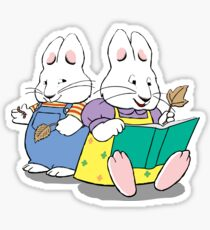 max and ruby Sticker