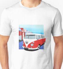 Vw Splitty beach hut Unisex T-Shirt