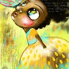 Butterfly On My Nose by Beatrice  Ajayi