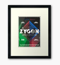 The Zygon Inversion Framed Print