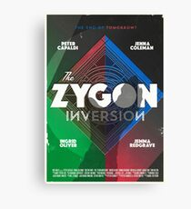 The Zygon Inversion Canvas Print