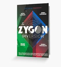 The Zygon Inversion Greeting Card