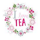 I love TEA by stamptout