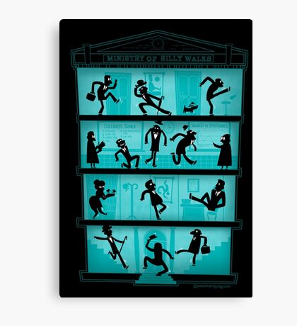 Ministry of Silly Walks Canvas Print