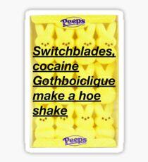 WitchBlades Sticker