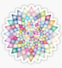 prisma rainbow flower star Sticker
