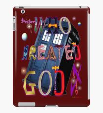 Who Created God? Who Created God. iPad Case/Skin