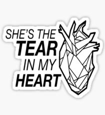 Tear in my Heart - Twenty One Pilots Sticker