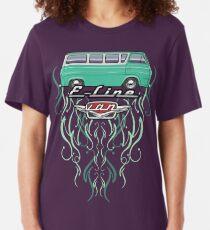 Para hombres camiseta señoras Hippy camper van felicidad es una forma de vida Paz Love