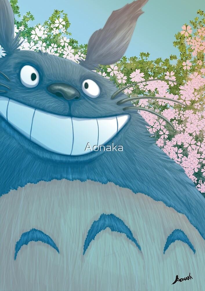 Tonari no Totoro - Tribute to Miyazaki and Ghibli by Aonaka