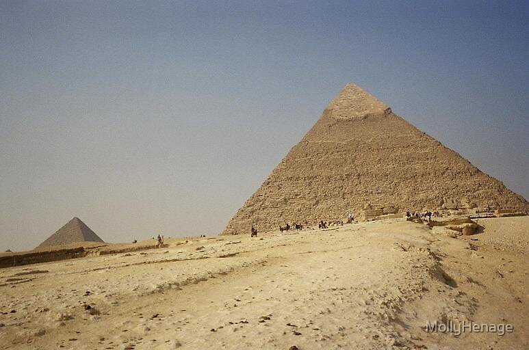 the pyramids by MollyHenage