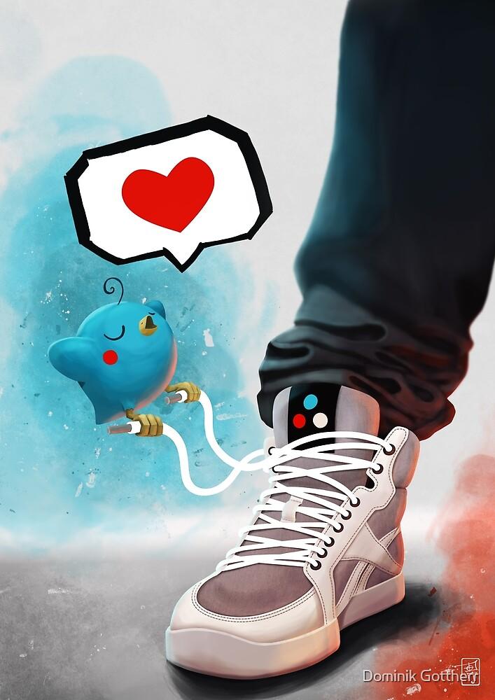 sneaker Love by Dominik Gottherr