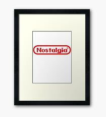 Gaming Nostalgia Framed Print