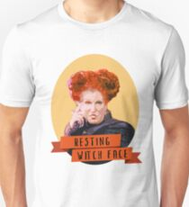 Resting Witch Face -winifred Sanderson Hocus Pocus Unisex T-Shirt