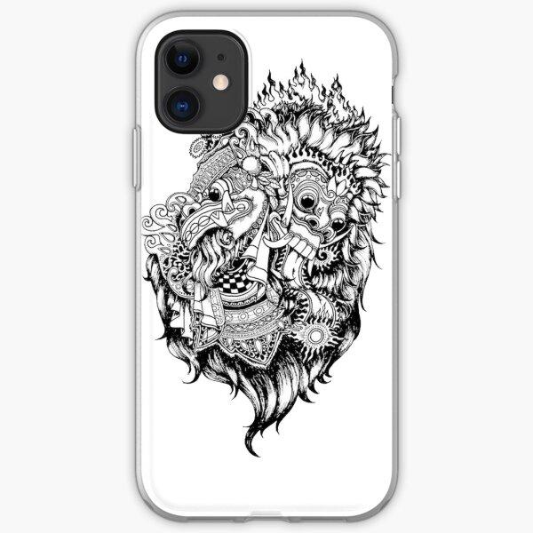Barong Bali  iPhone Soft Case
