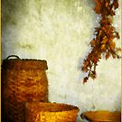 Golden Baskets by Carolyn Staut