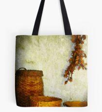 Golden Baskets Tote Bag