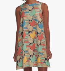 Book Addiction A-Line Dress
