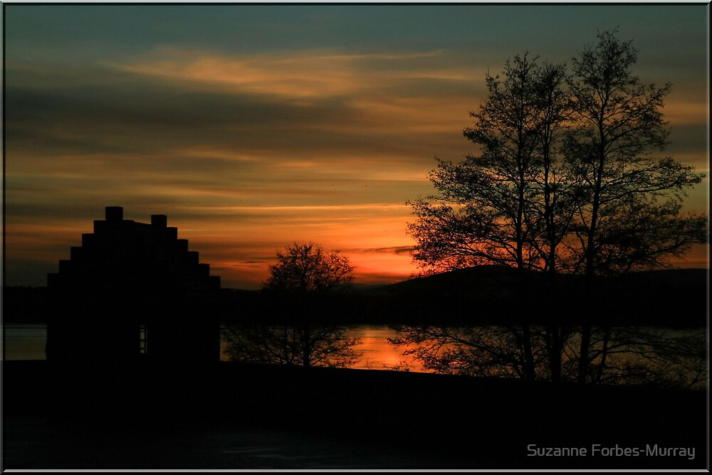 Sunset over Loch Skene by Suzanne Forbes-Murray