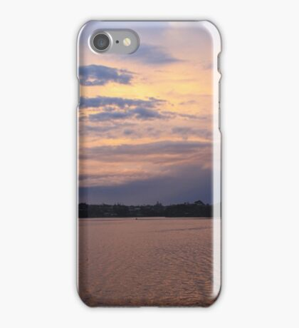 Last Light on the River... iPhone Case/Skin