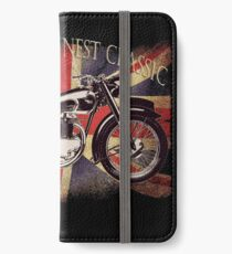 BSA British Finest Motorcycle iPhone Wallet/Case/Skin