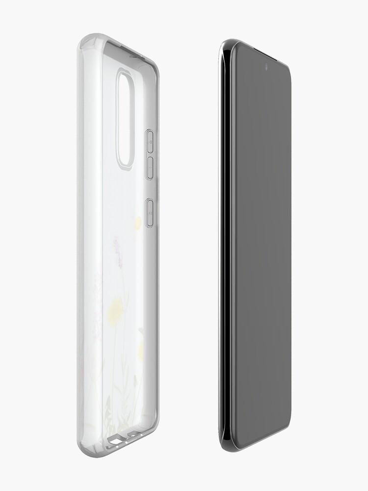 Alternate view of Pastel cyan - wildflower dreams Case & Skin for Samsung Galaxy