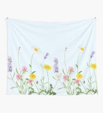 Pastel cyan - wildflower dreams Tapestry